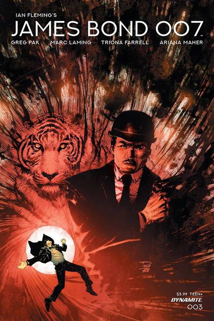 Dynamite Entertainment James Bond 007 #3 Comic Book [Cover B]