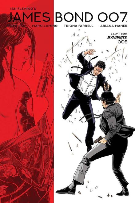 Dynamite Entertainment James Bond 007 #3 Comic Book [Cover D]