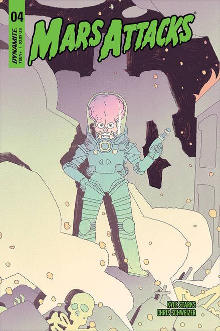Dynamite Entertainment Mars Attacks #4 Comic Book