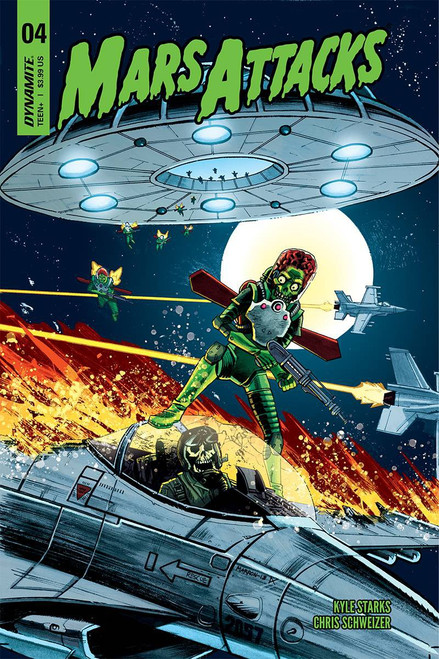 Dynamite Entertainment Mars Attacks #4 Comic Book [Cover C]