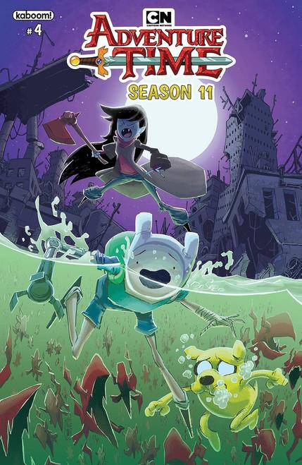 KaBOOM! Adventure Time #4 Season 11 Comic Book