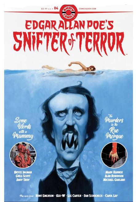 Ahoy Comics Edgar Allan Poe's Snifter of Terror #4 Comic Book