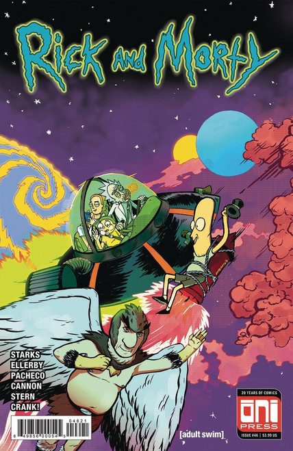 Oni Press Rick & Morty #46 Comic Book [Cover B]