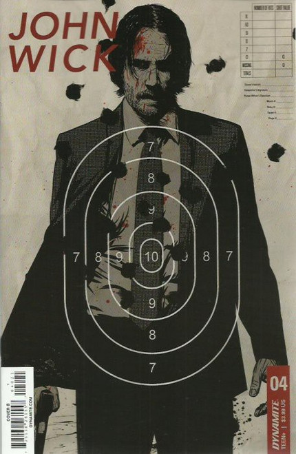 Dynamite Entertainment John Wick #4 Comic Book [Cover B]