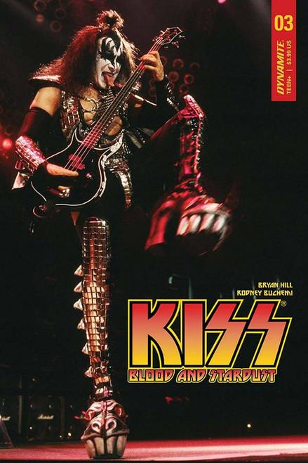 Dynamite Entertainment Kiss Blood Stardust #3 Comic Book [Photo Cover D ]