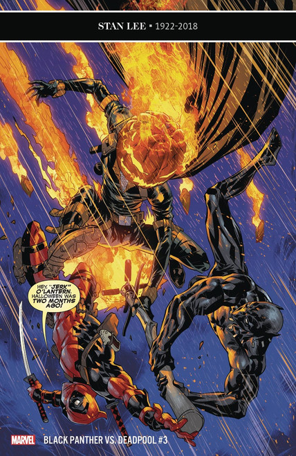 Marvel Comics Black Panther Vs Deadpool #3 of 5 Comic Book