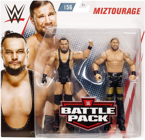 WWE Wrestling Battle Pack Series 56 Miztourage Action Figure 2-Pack [Bo Dallas & Curtis Axel]