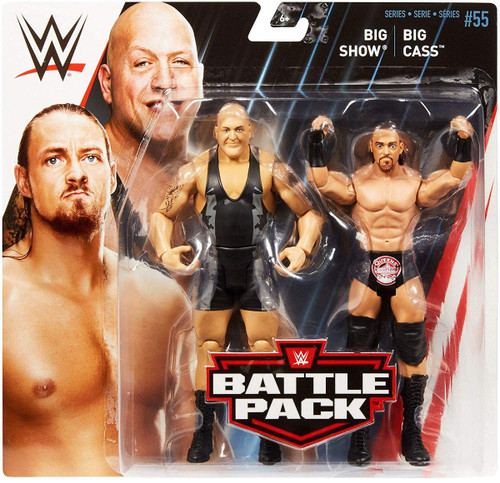 WWE Wrestling Battle Pack Series 55 Big Show & Big Cass Action Figure 2-Pack
