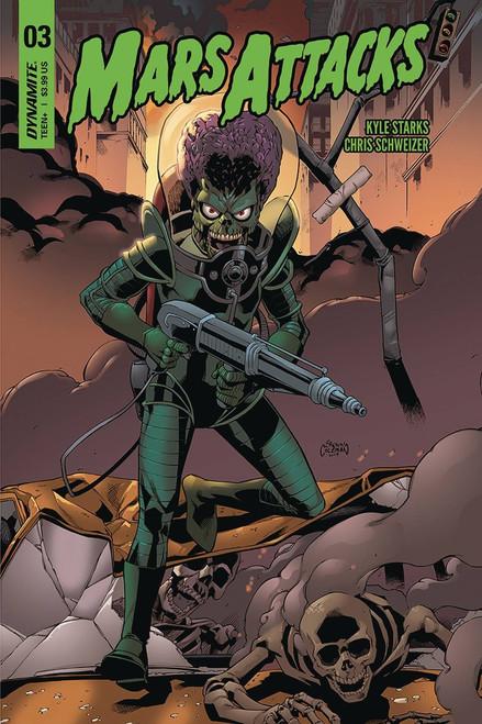 Dynamite Entertainment Mars Attacks #3 Comic Book [Coleman Cover B]