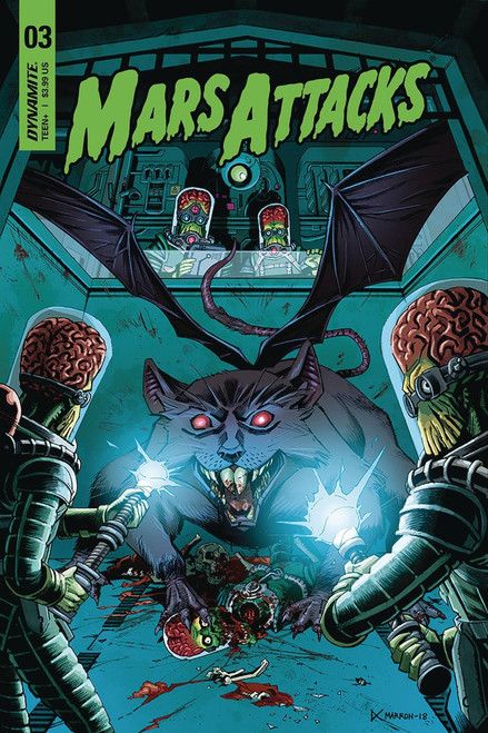 Dynamite Entertainment Mars Attacks #3 Comic Book [Marron Cover C]
