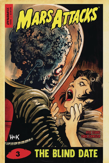 Dynamite Entertainment Mars Attacks #3 Comic Book [Hack Cover D]
