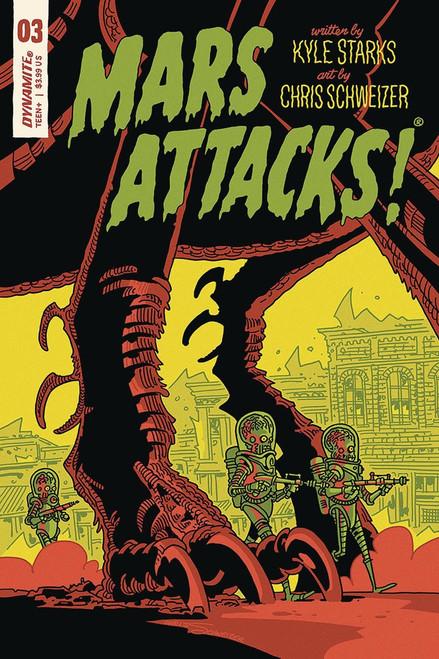 Dynamite Entertainment Mars Attacks #3 Comic Book [Schweizer Cover E]
