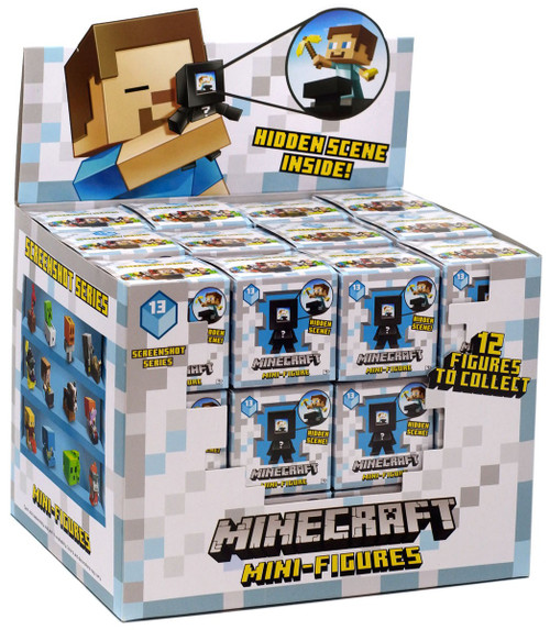 Minecraft Screenshot Series 13 Mystery Box [36 Packs]