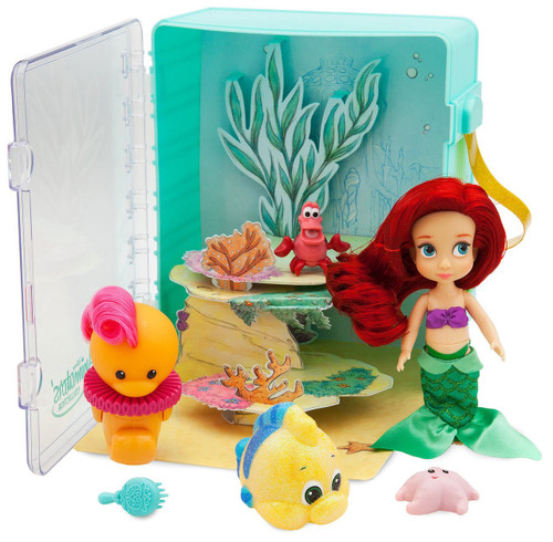 Disney The Little Mermaid Animators' Collection Ariel Exclusive 5-Inch Mini Doll Playset [2018]