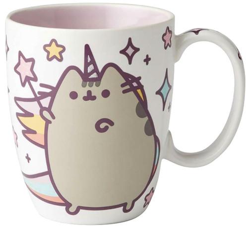 Pusheenicorn 12 Ounce Ceramic Mug