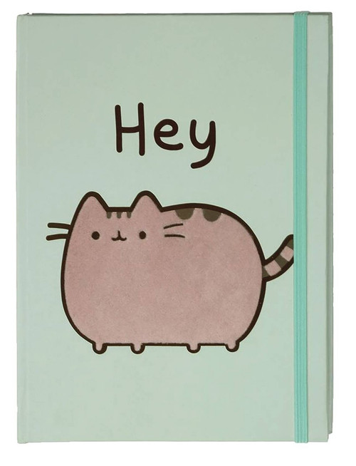 """Pusheen """"Hey"""" Journal [80 Pages]"""
