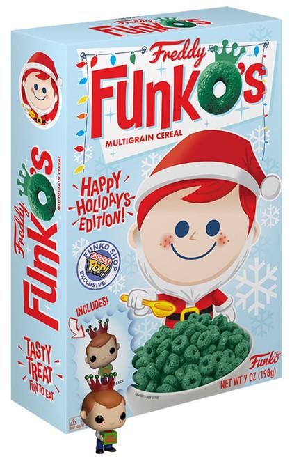 Freddy FunkO's 7 Oz. Breakfast Cereal [Happy Holidays Edition]