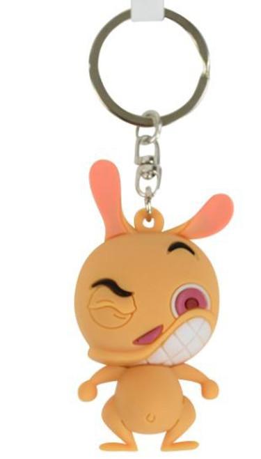 Nickelodeon 3D Figural Keyring Ren Keychain [Loose]