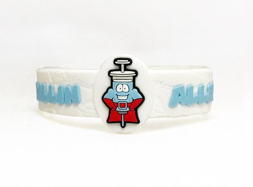 AllerMates Penicillin Allergy Bracelet Bracelet