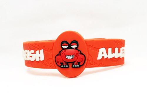AllerMates Shellfish Allergy Bracelet Bracelet