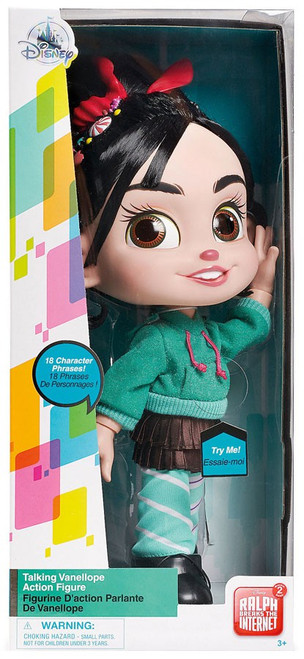 Disney Wreck-It Ralph 2: Ralph Breaks the Internet Vanellope Exclusive Talking Action Figure [Damaged Package]