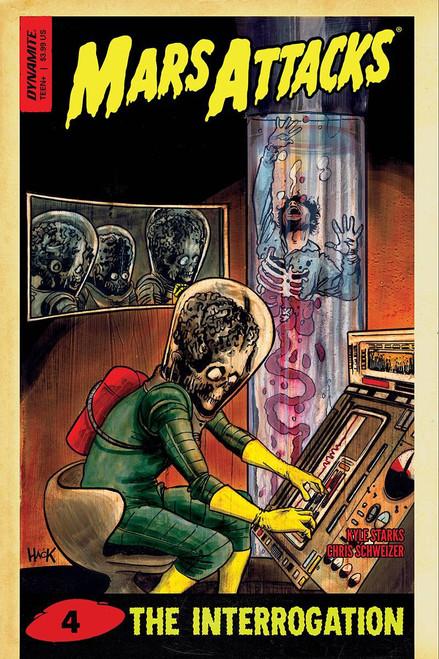 Dynamite Entertainment Mars Attacks #4 Comic Book [Cover D]