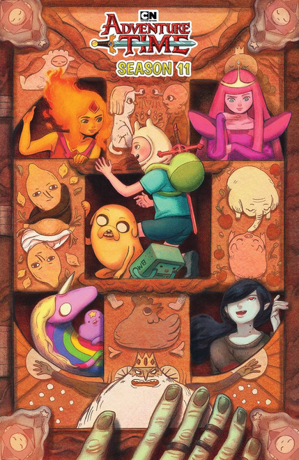 KaBOOM! Adventure Time #4 Season 11 Comic Book [Benbassat Variant Cover]