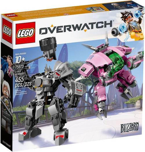 LEGO Overwatch D. Va & Reinhardt Set #75973