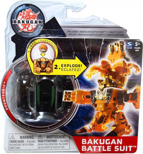 Bakugan Mechtanium Surge Doomtronic Battle Suit [Black]
