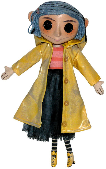 NECA Coraline 10-Inch Doll [Blue Package]
