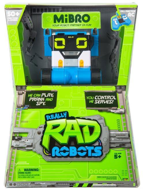 Really Rad Robots MiBro R/C Robot