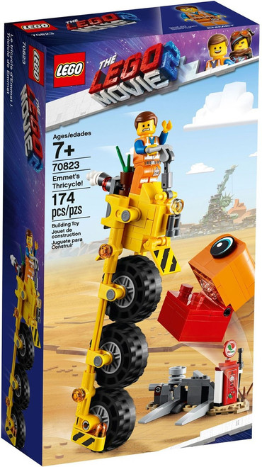 The LEGO Movie 2 Emmet's Thricycle! Set #70823