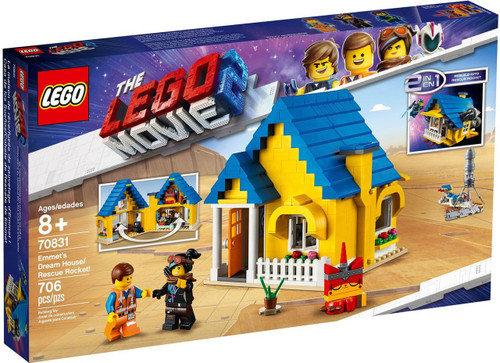 The LEGO Movie 2 Emmet's Dream House / Rescue Rocket! Set #70831