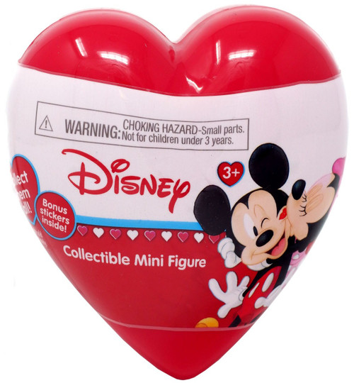 Disney Mickey Mouse Valentine Mickey & Minnie Mouse Mystery Pack