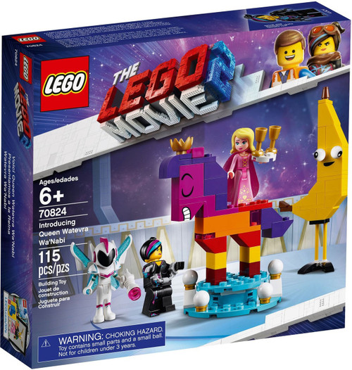 The LEGO Movie 2 Introducing Queen Qatevra Wa'Nabi Set #70824