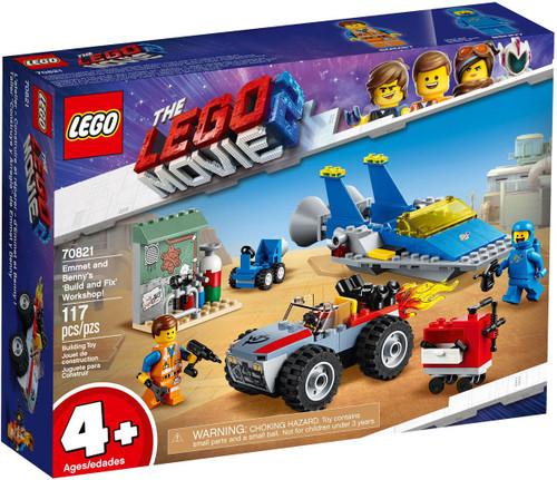 The LEGO Movie 2 Emmet & Benny's 'Build & Fix' Workshop! Set #70821