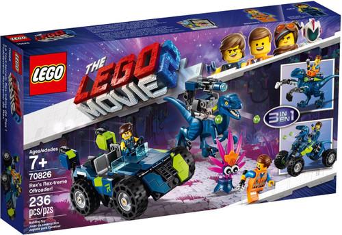 The LEGO Movie 2 Rex's Rex-treme Offroader! Set #70826