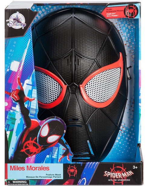 Disney Marvel Spider-Man Into the Spider-Verse Miles Morales Exclusive Talking Mask