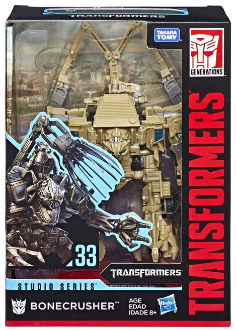 Transformers Generations Studio Series Bonecrush Voyager Action Figure #33