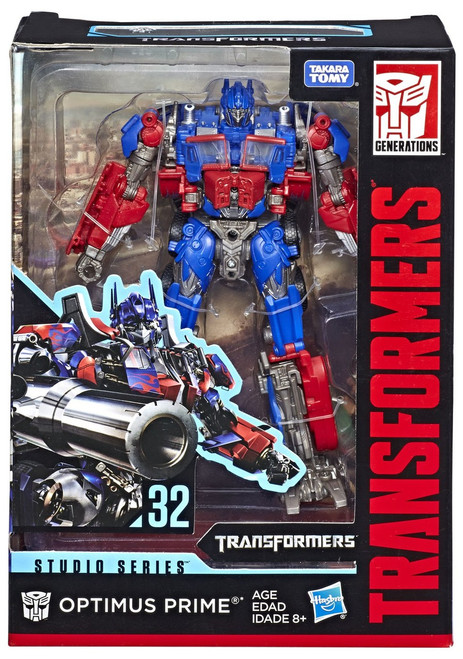 Transformers Generations Studio Series Optimus Prime Voyager Action Figure #32 [Version 2]