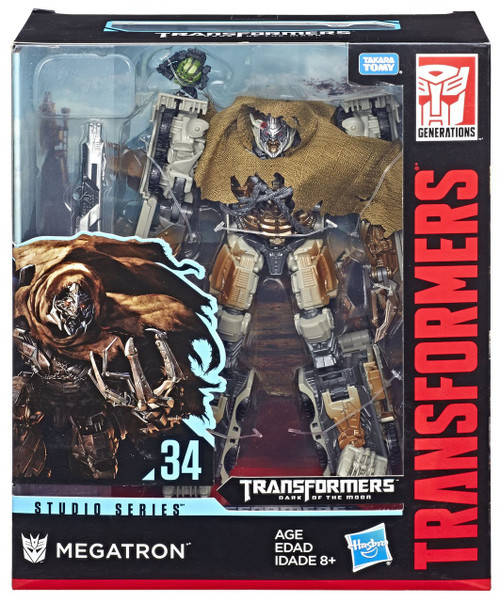 Transformers Generations Dark of the Moon Studio Series Megatron Leader Action Figure #34 [Dark of the Moon]