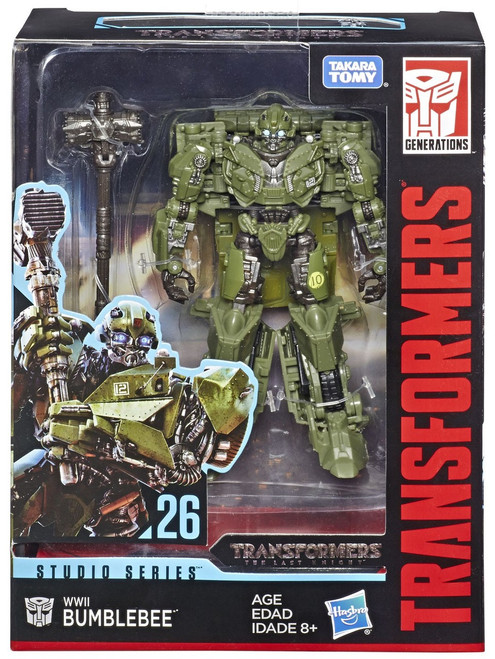 Transformers Generations Studio Series WWII Bumblebee Deluxe Action Figure #26