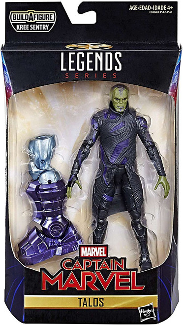 Captain Marvel Marvel Legends Kree Series Talos Skrull Action Figure
