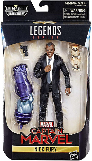 Captain Marvel Marvel Legends Kree Series Nick Fury Action Figure