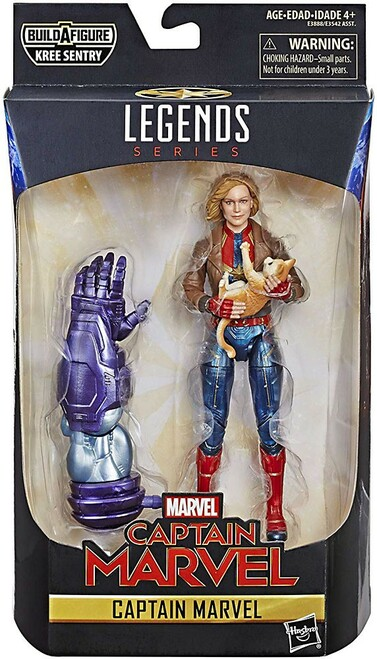 Marvel Legends Kree Series Captain Marvel Action Figure [Bomber Jacket]