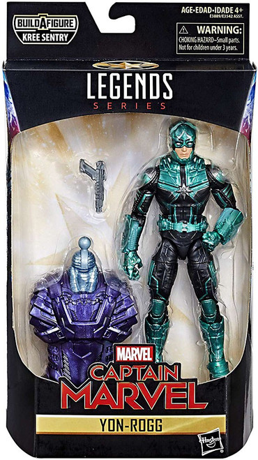 Captain Marvel Marvel Legends Kree Series Yon-Rogg Action Figure