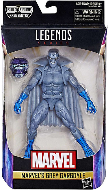 Captain Marvel Marvel Legends Kree Series Grey Gargoyle Action Figure