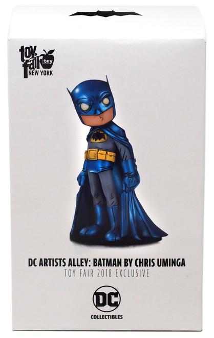 DC Artist Alley Batman Exclusive 6.6-Inch PVC Collector Statue [Chris Uminga, Metallic]