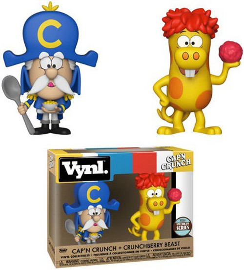 Funko Vynl. Cap'n Crunch & Crunchberry Beast Exclusive Vinyl Figure 2-Pack [Specialty Series]