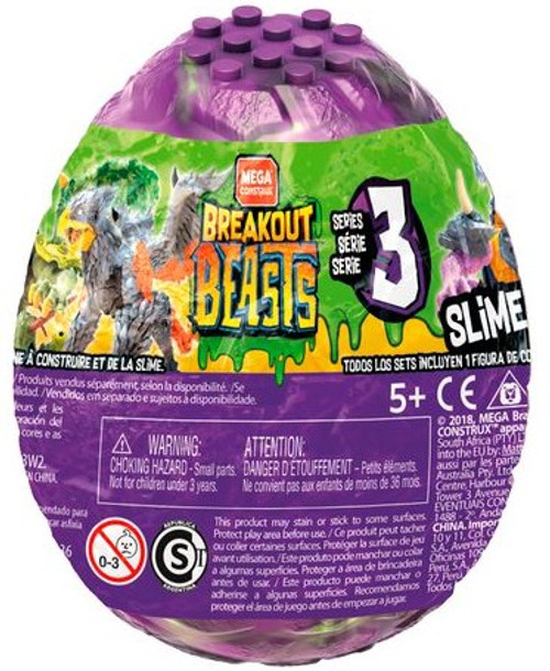 Breakout Beasts Series 3 Slime Egg Mystery Pack